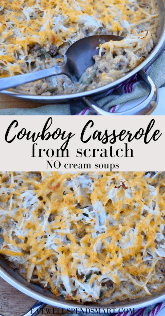 Cowboy casserole from scratch