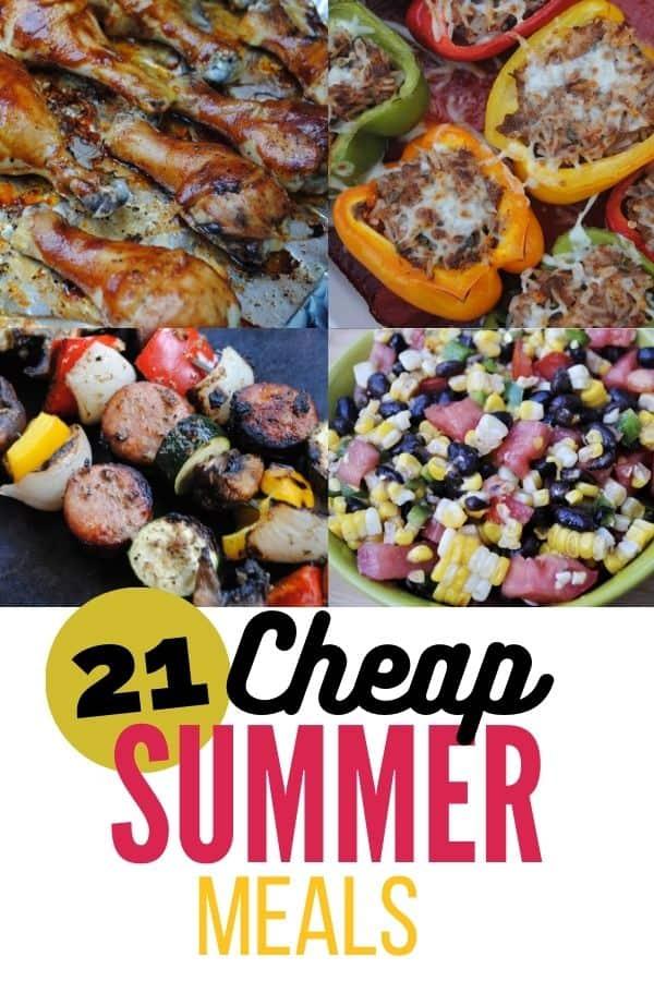 Cheap summer meals