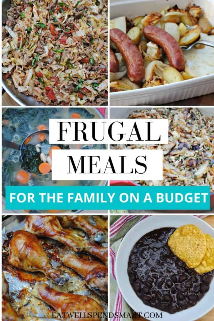Frugal meals for the family on a budget